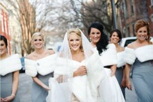 Cosmopolitan Bride editor FRANKIE HOBSON Talks about what's hot in bridal fashion.