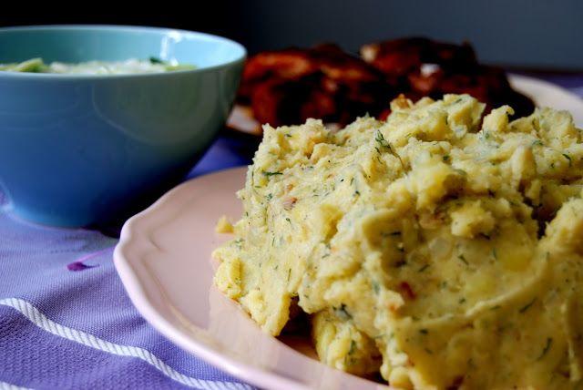 Pulchne, tłuczone ziemniaki