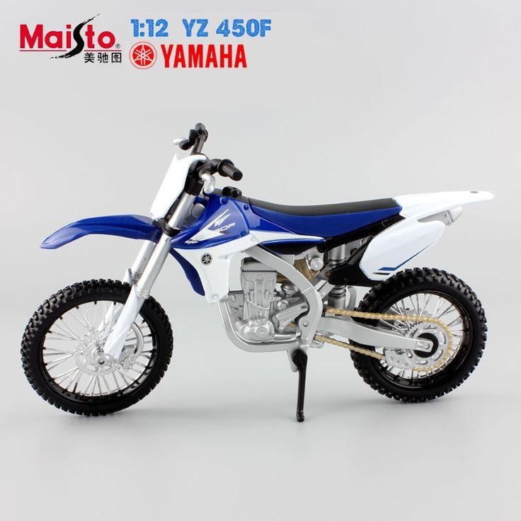 MAISTO 1:12 brand kids Mini Motorcycle KAWASAKI KX 450F Diecast model motor bike miniature metal models race toys collectibles