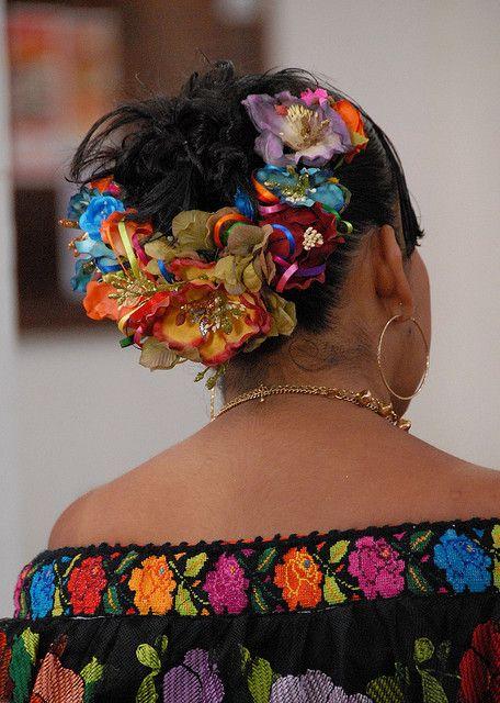 Chiapaneca (Mexican folk dance) ~Fiesta of San Antonio Abad in Chiapa de Corzo, Chiapas, Mexico