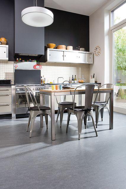 Cork Flooring: Kitchen by Real Cork Floors, via Flickr