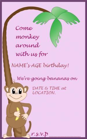 22 best Invitations images on Pinterest Invitation templates - online birthday invitations templates