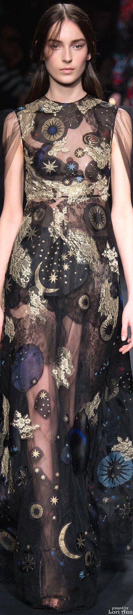 Valentino solar system dress fantasy fashion nerdy fashionista #UNIQUE_WOMENS_FASHION