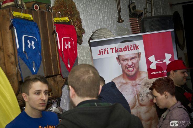 Přední český strongman Jiří Tkadlčík