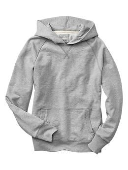 I'll always be a sucker for a plain, grey hoodie with no visible logos.