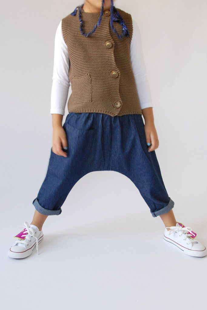 the | posh | pant - WUNWAY - I feel like these pants have no inseam and would thus be really easy to make?