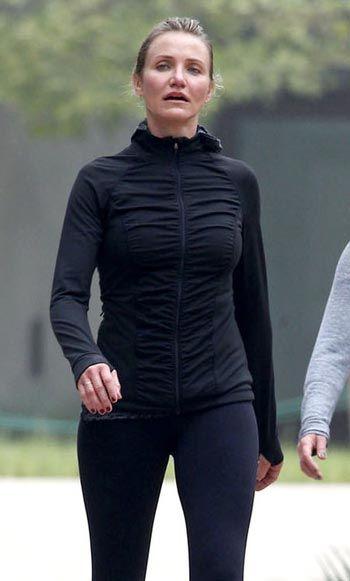 Beneficios de andar frente a correr. Moda en Hollywood - Cameron Díaz en 2015