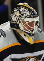 Tomas Vokoun Game Used Mask - Nashville Predators
