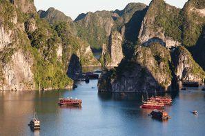Vacances Hanoi: Circuit Vietnam Saveurs de la Baie d'Halong
