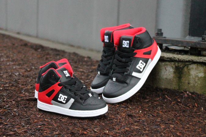 Boy's DC High Tops #DCShoes