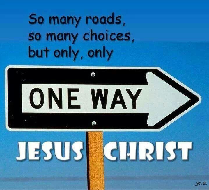 jesus one way - photo #6
