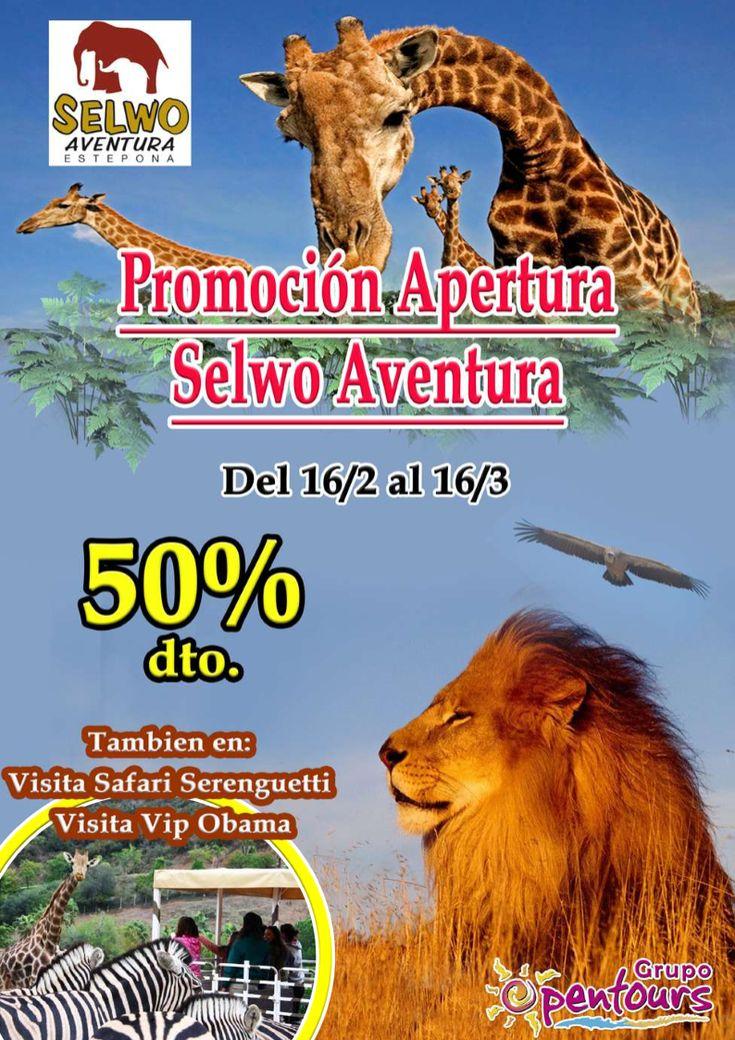 | GRUPO OPENTOURS | . Selwo Aventura (Estepona, Málaga, Andalucía, España) ---- Promoción APERTURA 2018 ---- 50% de descuento hasta el 16 de Marzo ---- Resto condiciones de esta oferta en www.opentours.es ---- Información y Reservas en tu - Agencia de Viajes Minorista - ---- #selwo #selwoaventura #estepona #malaga #andalucia #parqueanimales #parquedeocio  #escapadas #hoteles #vacaciones #estancias #ofertas #soloadultos #agentesdeviajes  #reservas #touroperador #mayorista #spain…