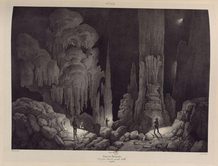 Grotte des Demoiselles, Voyages (…), Languedoc, 1833-1838