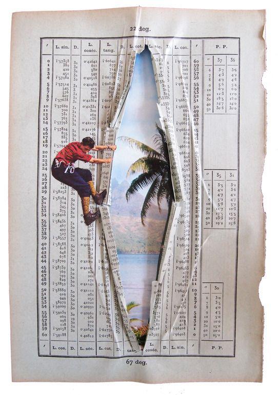 Erwan Soyer; Decoupage, 2011, Assemblage / Collage Tahiti