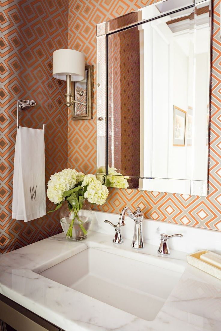 Best 25 Bold Wallpaper Ideas On Pinterest Trends For 2016 Small Bathroom Wallpaper And