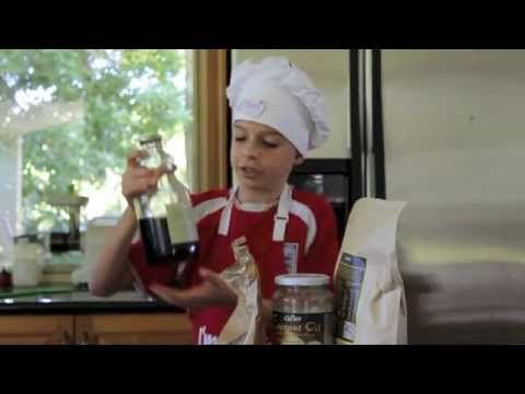 Let mini-chefs, Ethan and Ryan show you how to make raw, vegan chocolate. It tastes better than the bought stuff!