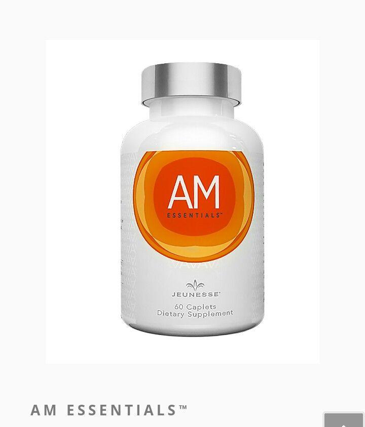 EMPIECE EL DÍA PENSANDO EN SU SALUD  AM Essentials™ es una fórmula innovadora que contiene vitaminas esenciales y minerales clave.