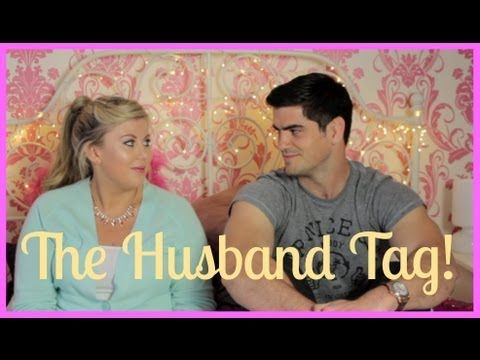 This isn't like mega laugh out loud funny... but totally snicker worthy. I love her videos & you must watch!  The Husband Tag!