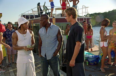 2 Fast 2 Furious: Ludacris (Tej Parker), Tyrese Gibson (Roman Pearce), Paul Walker (Brian O'Conner)