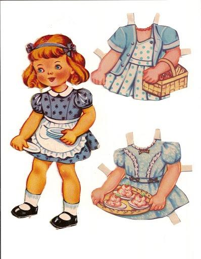 Is dit meisje aan het bakken of doet ze boodschappen :)
