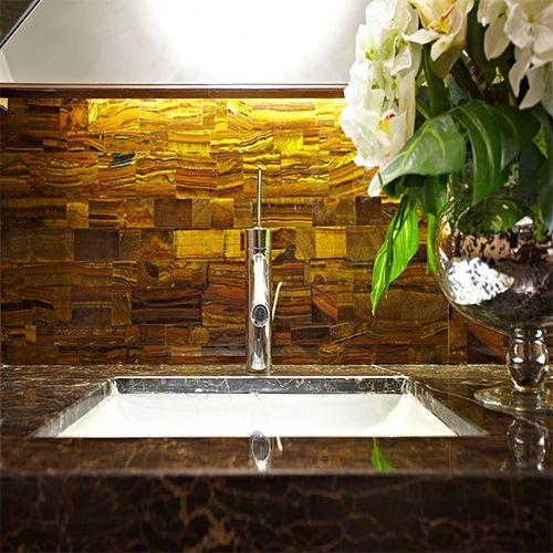 washing tub pool bathroom kitchen stone slab decoration - Stone Slab Canopy Decoration