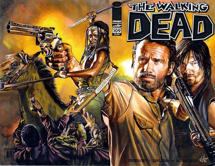 Walking dead 109 4th comic by choffman36.deviantart.com on @deviantART