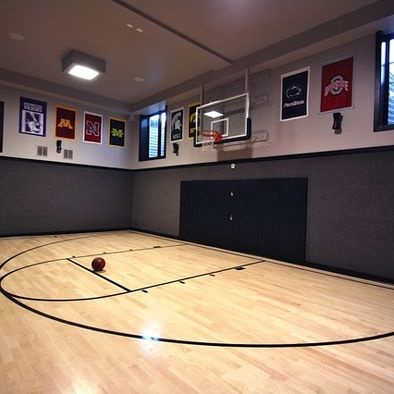 Unique Gym with Basketball Court Chicago