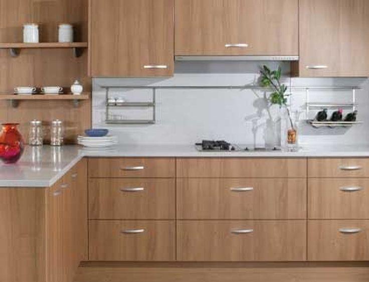 M s de 1000 ideas sobre cocinas integrales de madera en for Cocinas claras modernas