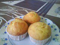 arašídové muffiny