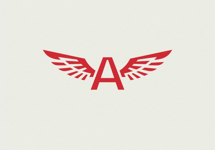 winged a logo m logo pinterest logos wings and a logo