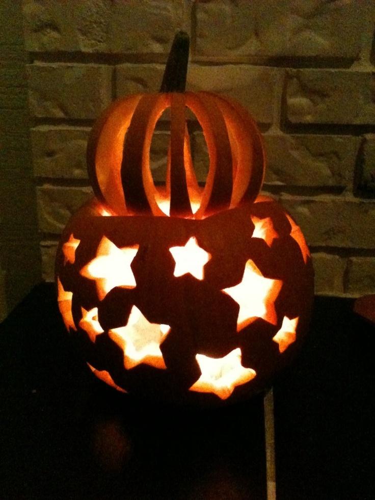 halloween pumpkin stars
