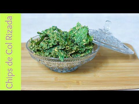 ¡Exquisitas! Chips de Col Rizada (kale chips)de Sabor a Queso| Sin Gluten|Vegan - YouTube