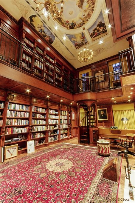 Upper East Side, NYC - home library