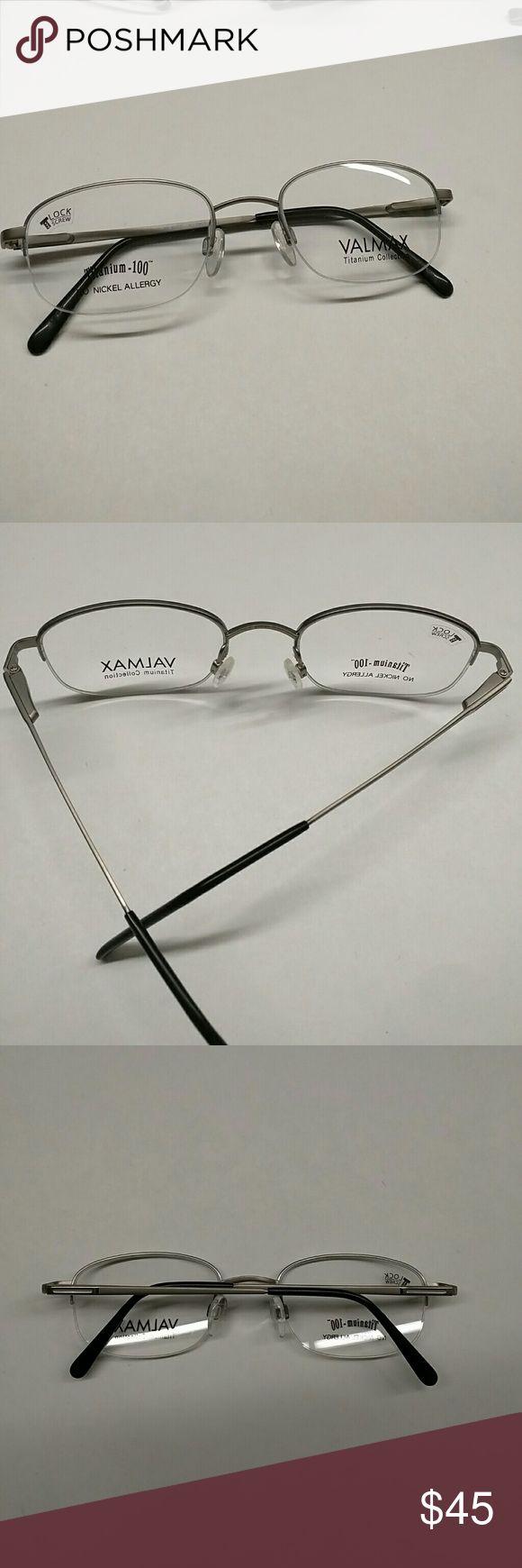 Valmax titanium no nickel allergy eyeglass frame New frame valmax Accessories Glasses