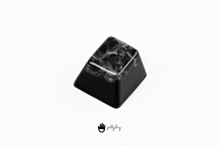 Jelly Key - Trass & lava keycap