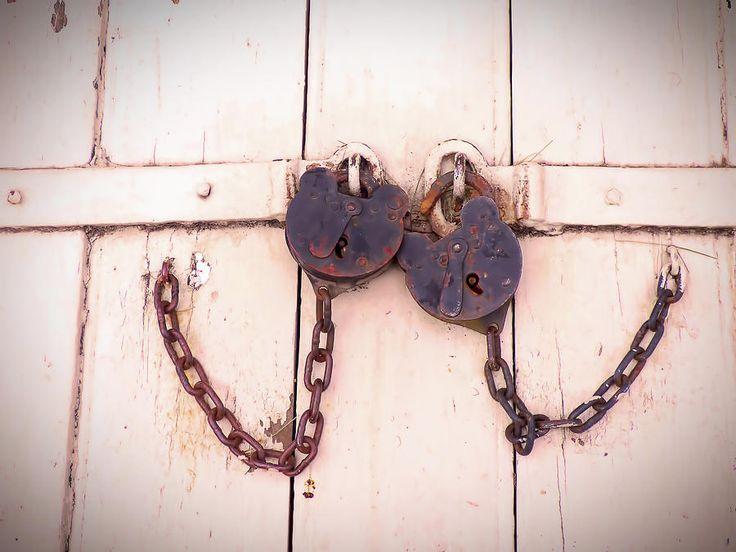 A Pair Of Old Padlocks by Leslie Montgomery