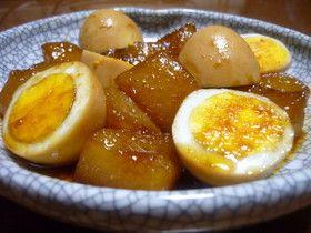 DAIKON AND EGG STEW, ✿トロトロ大根と玉子のこってり煮✿ (daikon radish)