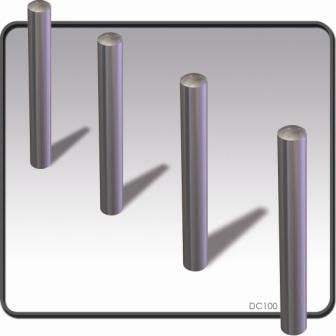 Dome Top Stainless Steel Bollards