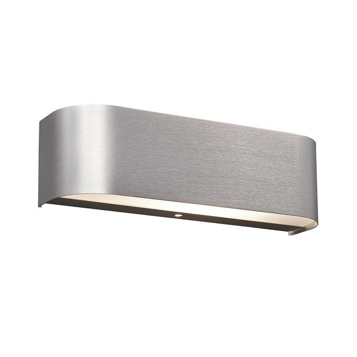 LED Wandleuchte mit abgerundeten Ecken inklusive OSRAM-LED 30 cm Breite