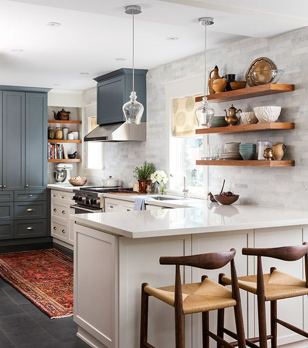 12 designer kitchens that will never go out of style small galley - Galley Kitchen Design Ideas