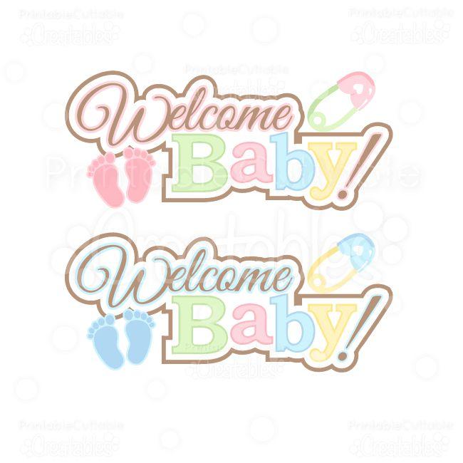 baby shower word clip art - photo #3