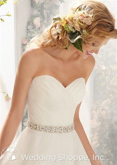 Bridal Belts and Sashes Mori Lee 11056 Bridal Belts and Sashes Image 1