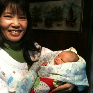 Thought Lisson Grove's guests may like to know that our wonderful housekeeper Xiaoling is now mother to brand new bub Noah.  Thankfully both are well & the baby is beautiful.