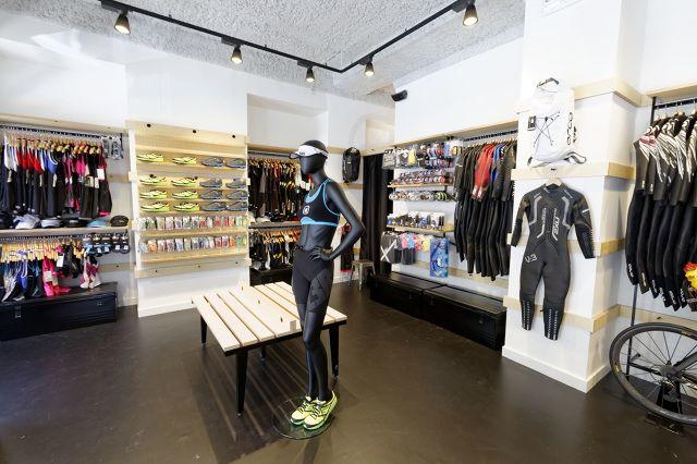 Triathlon Store Nice - florian brillet design