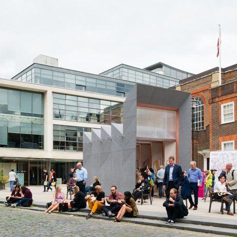 industrial form ~ Studio Weave Smith pavilion Clerkenwell Design Week