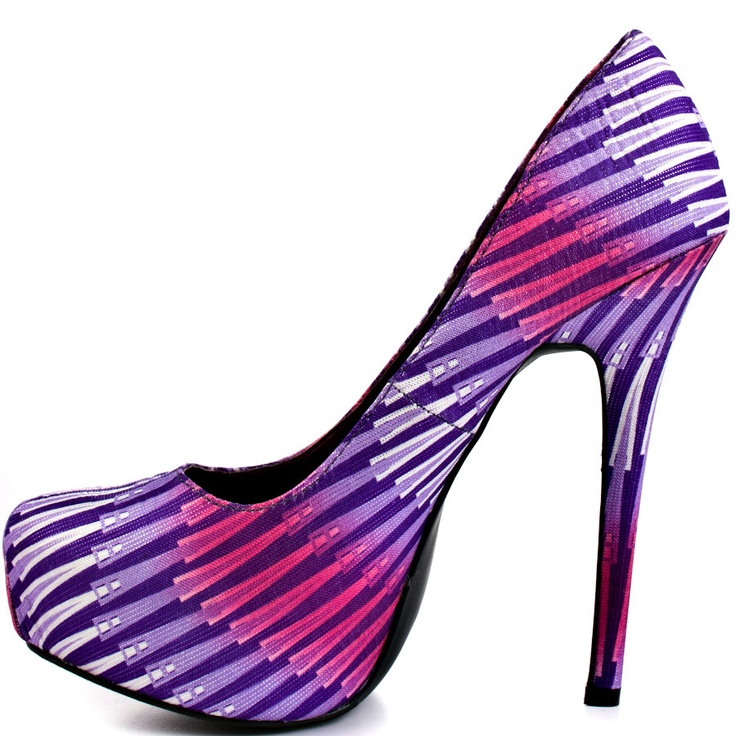 19 best Shoes images on Pinterest | Purple shoes, Ladies shoes and ...