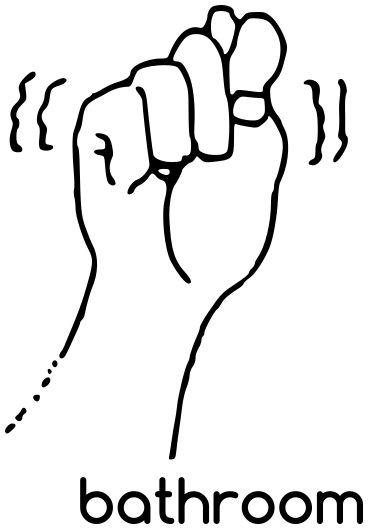Bathroom Sign Language Symbol 67 best sign language images on pinterest | american sign language