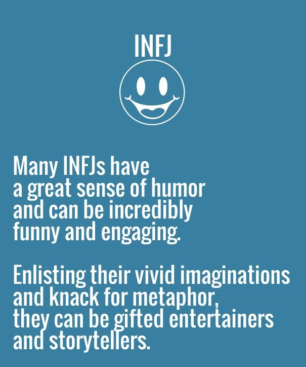 Check out my new PixTeller design! :: Infj many infjs have a great sense of humor and can be incredi...