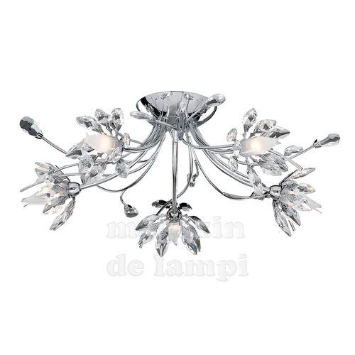 O plafonieră minunat şi elegant, care oferă o strălucire în casa ta ca la un palat.
