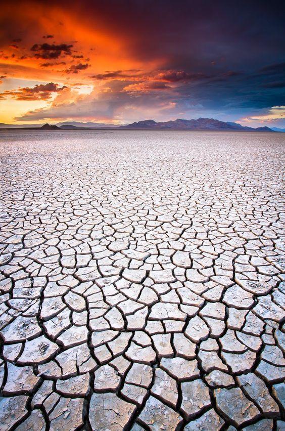 Black Rock Desert, Nevada USA
